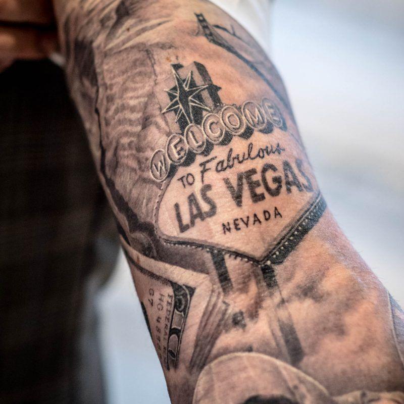 tattoo welcome las vegas tatouages vegas pinterest