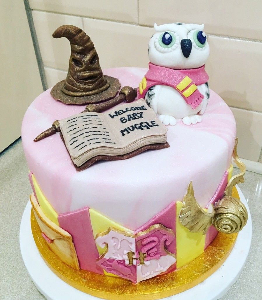 Harry Potter Baby Shower Cake Made By Kitty Crumble In Liverpool