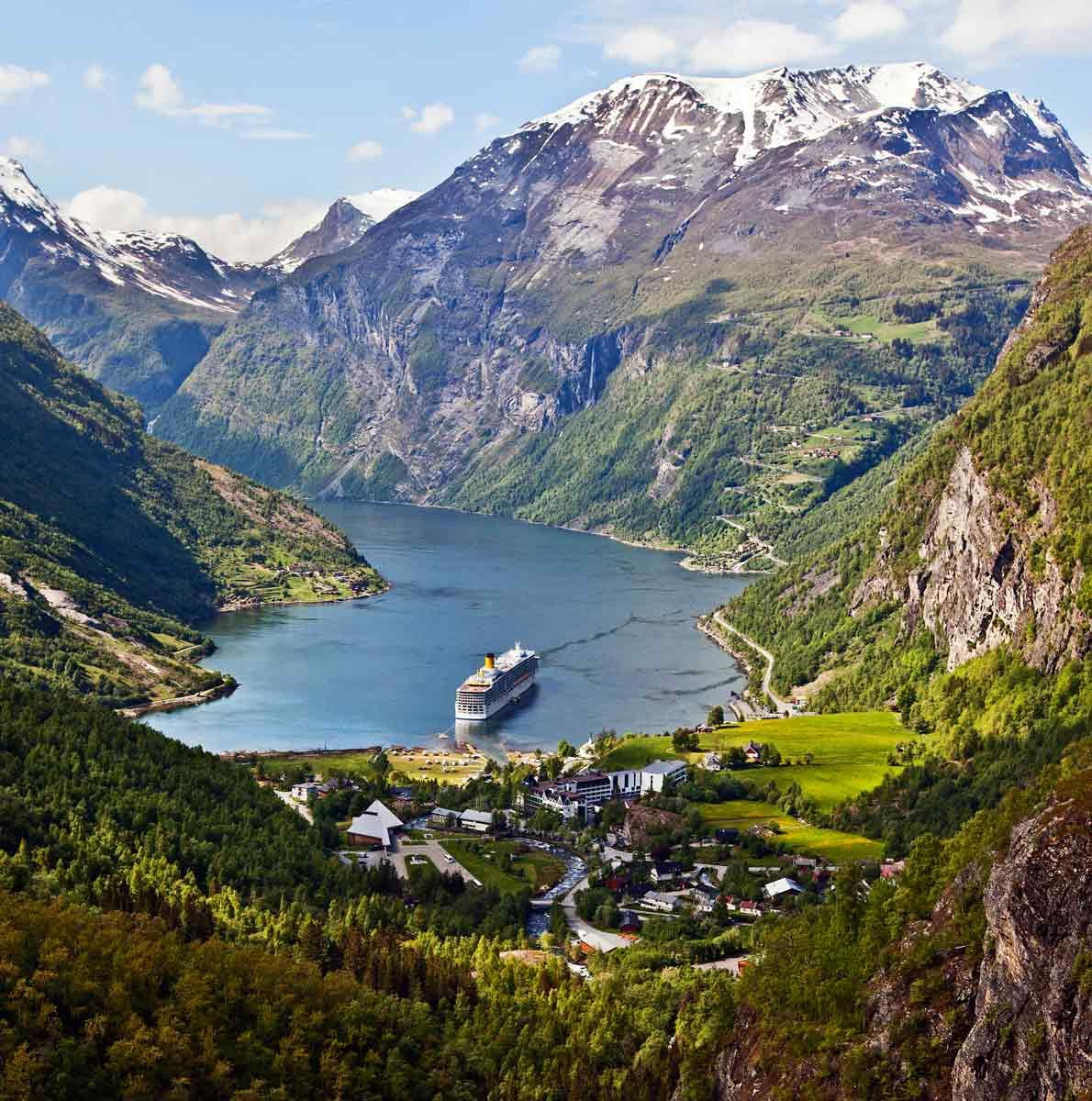 Geiranger Fjord, Norway | Norge