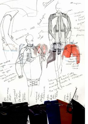 Pin By Fashion Element Ru On Arts Fashion Design Drawings Sketch Book Illustration Design