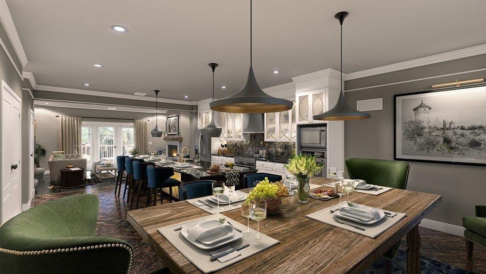Loft-Wohnung Penthaus Glanz-Küchen Fronten Project 3 KLC