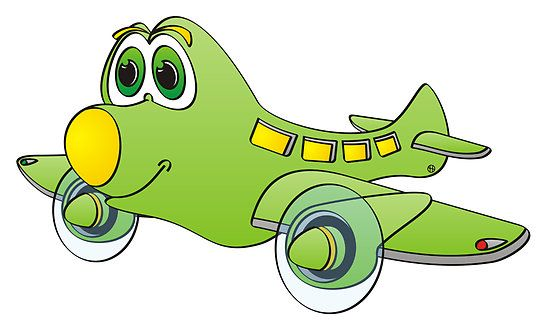 Green Yellow Nose Airplane Cartoon By Graphxpro Cartoon Airplane Cartoon Kids Prints