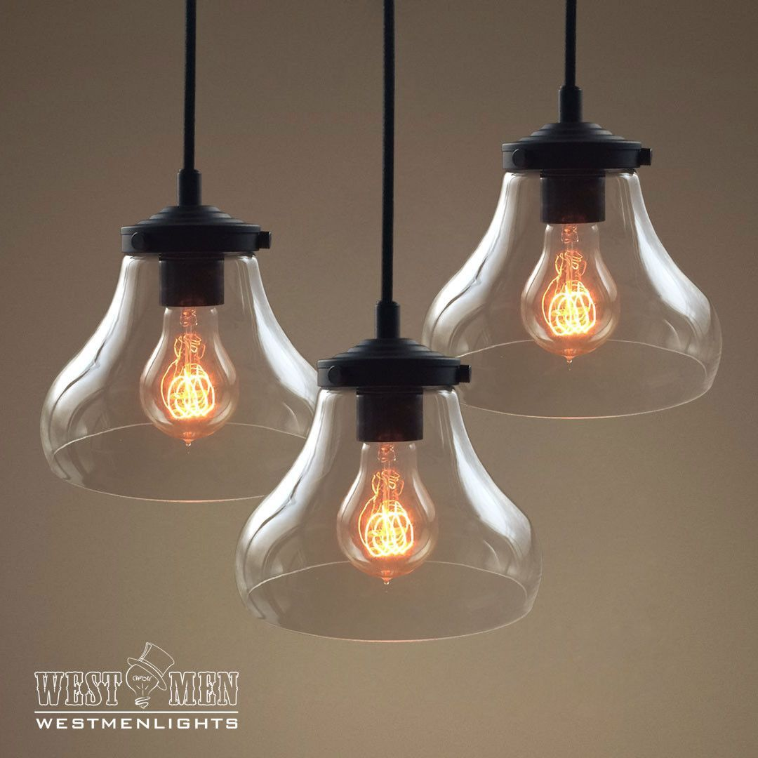 Westmenlights three globe bowl cluster hanging pendant lighting