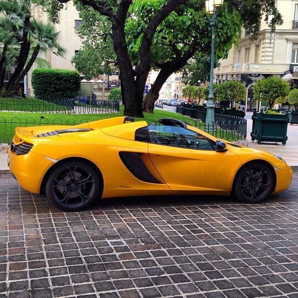 McLaren MP4-12C Spider - Monaco Bright Yellow Baby ...