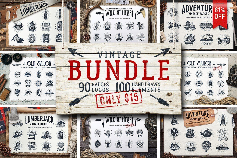 81 Off Vintage Bundle 90 Logos How To Draw Hands Premade Logo Design Graphic Design Assets