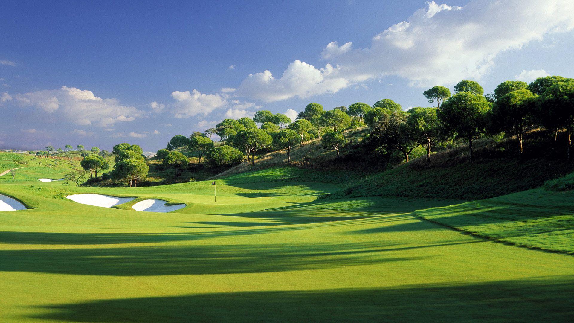 Golf Green Ground Wallpaper Hd Wallpapers Nature Wallpapers Golf Courses Golf Trophies Golf