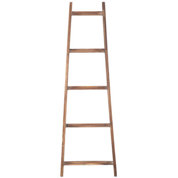 Weathered Decorative Wood Ladder Wood Ladder Wood Decor
