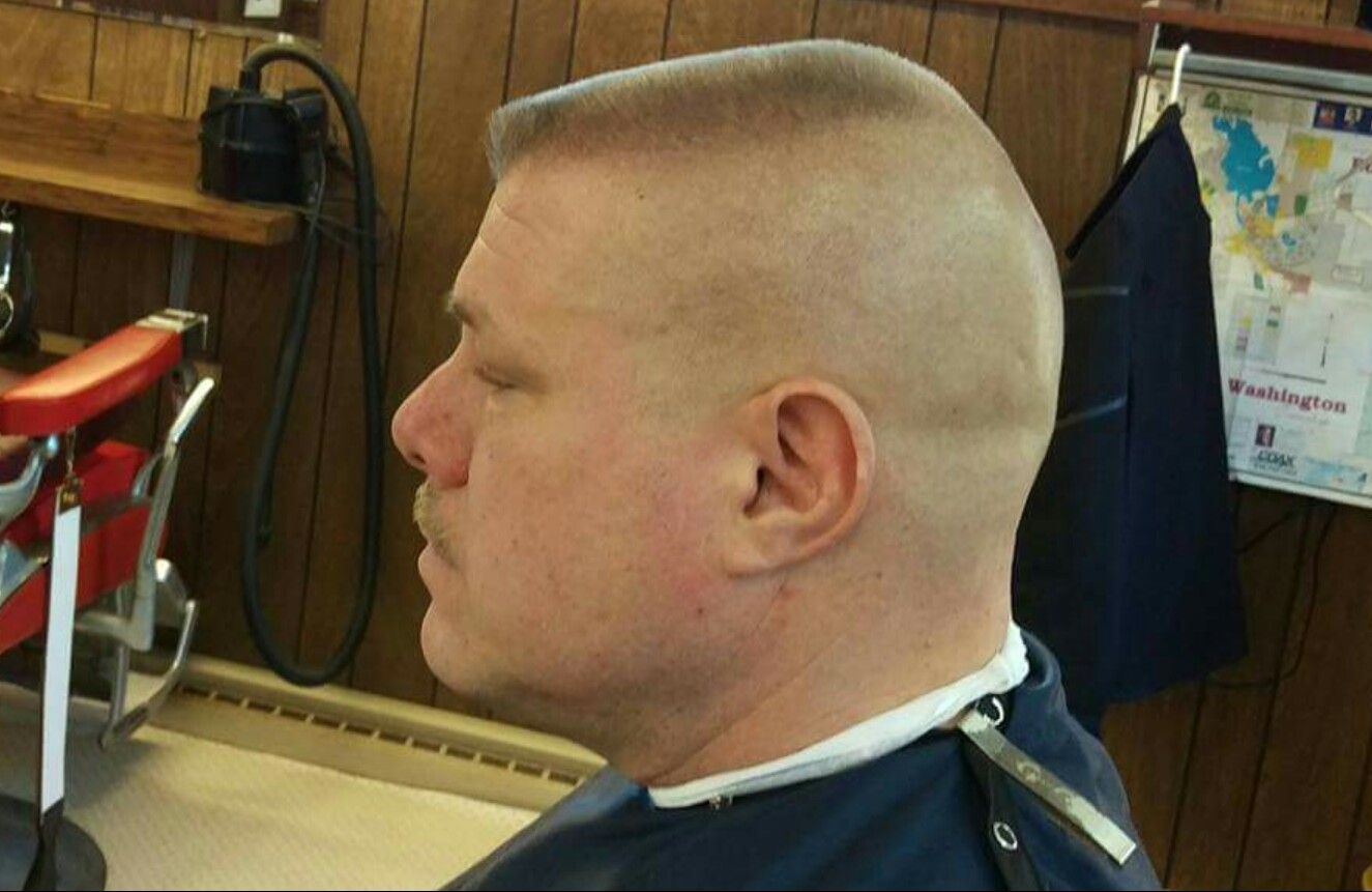 High And Tight Flat Top Haircut Myers Barber Shop Pinterest