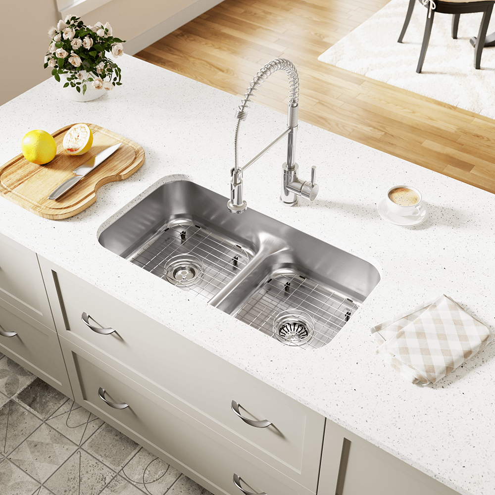 512 Half Divide Stainless Steel Kitchen Sink in 2020