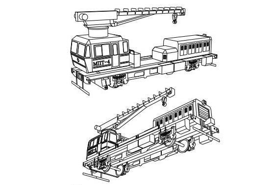 MPT4 (МПТ4) Rail Car Free Vehicle Paper Model Download