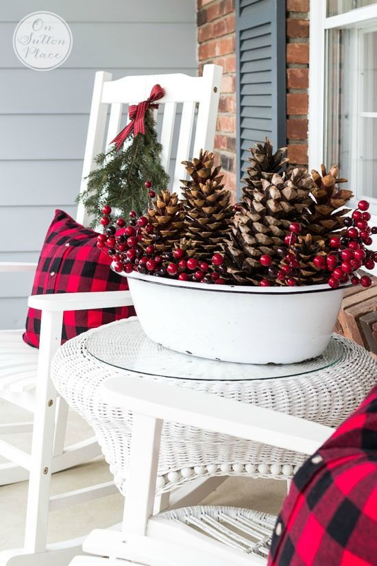 porch sitting area festive frugal christmas porch decor ideas for adding easy touches of christmas to welcome your family and friends to your home