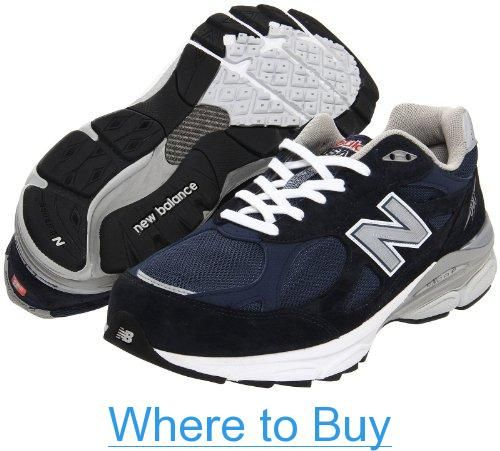 New Balance - Mens 990v3 Stability Running Shoes, Size: 11 4E US, Color