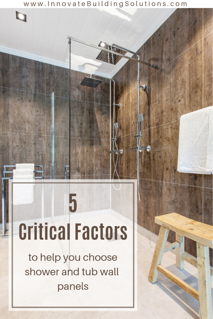 does thickness matter in shower wall panels  cheap