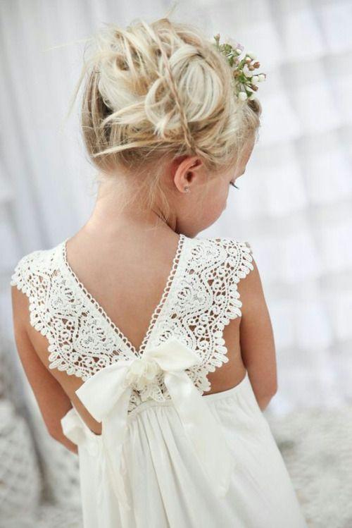 Boho Blumenmadchen Hochzeit Blumenkinder Kleider Fur