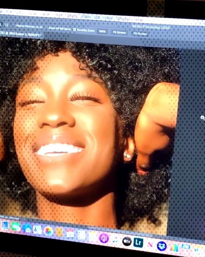 Editing the beautiful @marandaseditorial ❤️ •