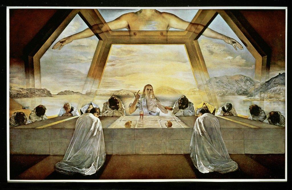 The Sacrament of the Last Supper | Salvador Dalí, The Sacrament of ...