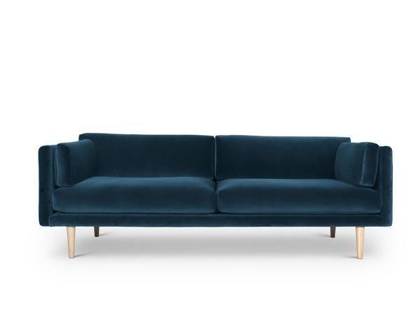 A Sofa Petrol Velvet Samt Sofa Grunes Sofa Blaues Sofa
