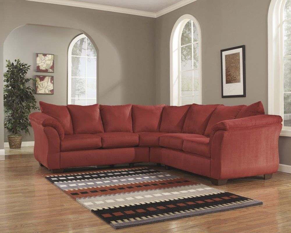 Enola 5 Piece Sectional Ashley Homestore 2159 Large Size But Polyester Fabric A Cheap Living Room Sets Cheap Living Room Furniture Ashley Furniture Sofas