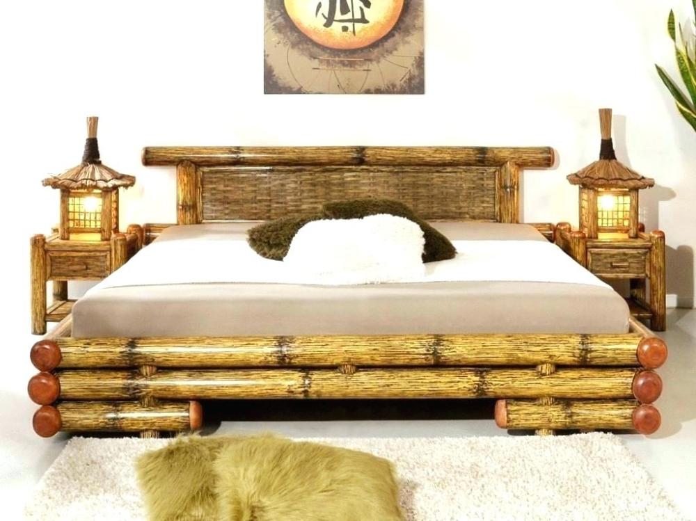 Modern Bamboo Bedroom Furniture En 2020 Muebles De Bambu Diseno