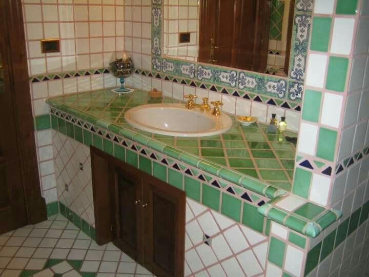Greca Bagno ~ Tappeto mosaico bagno piastrelle artigianali cucine e bagni in