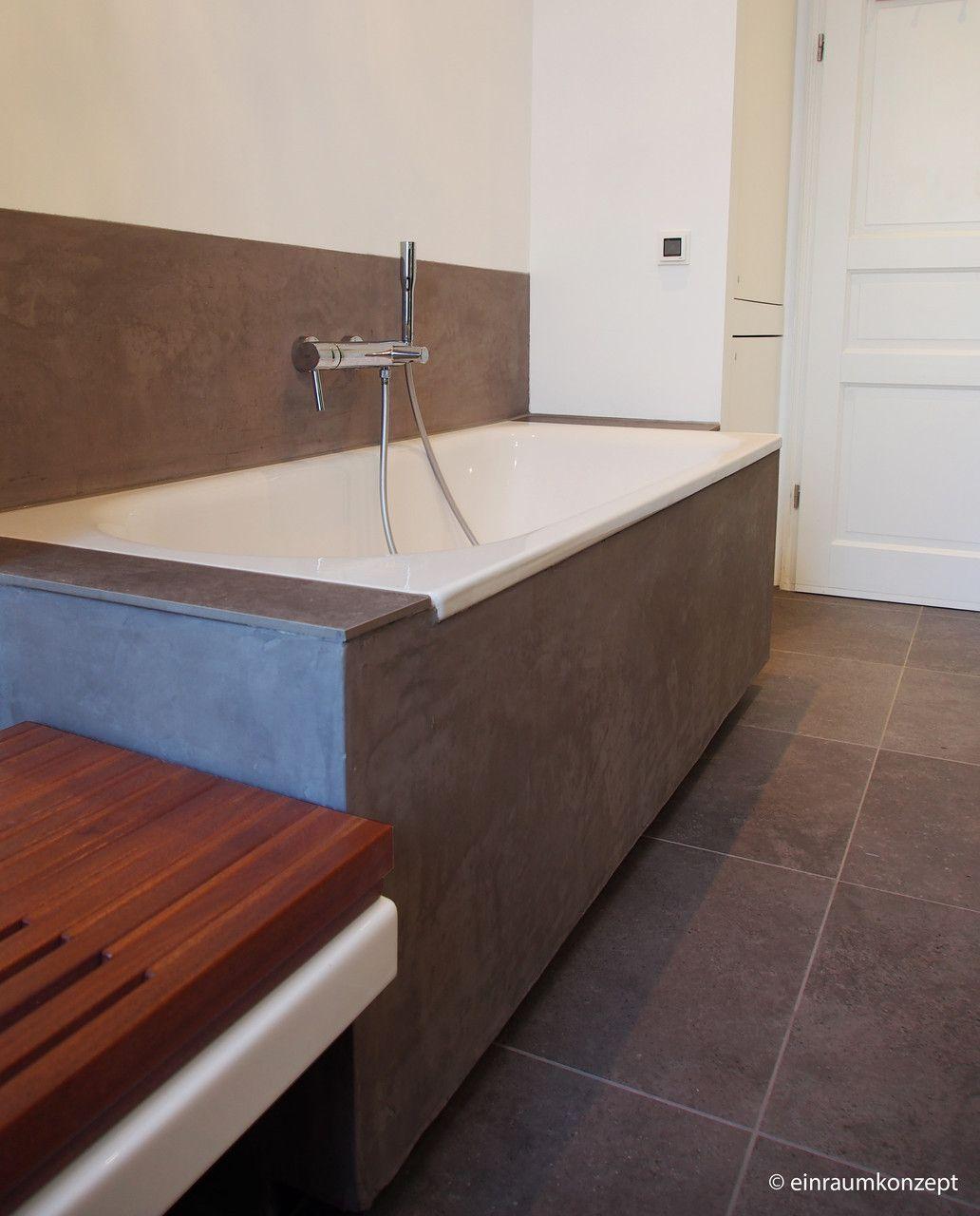 Bad, bathroom, Berlin, Interior Design, Planung, Fliese, Beton ...