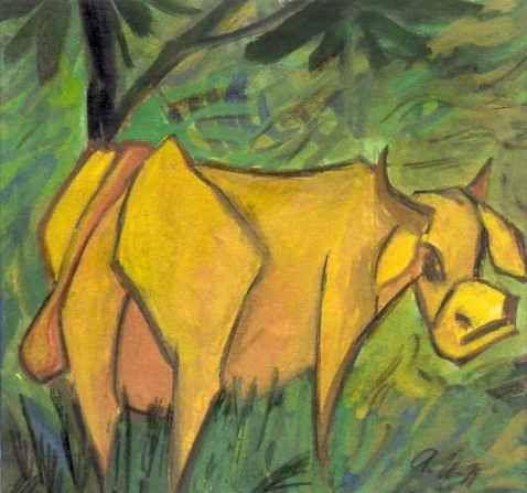 Otto Mueller (1874-1930) Emile Nolde voegt zich tijdelijk bij hen, van februari 1906 tot eind 1907. Pechstein sloot zich in 1906 aan en Otto Mueller in 1910.Een groot aantal van de kunstenaars die behoorden tot deze groep zijn autodidact.