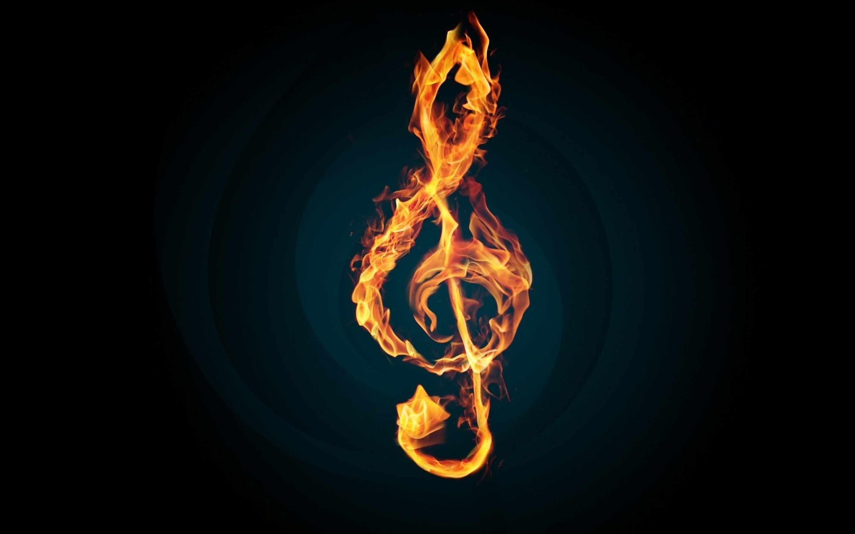 Fire Music Notes Animated Black Wallpaper Hd Free 38299020