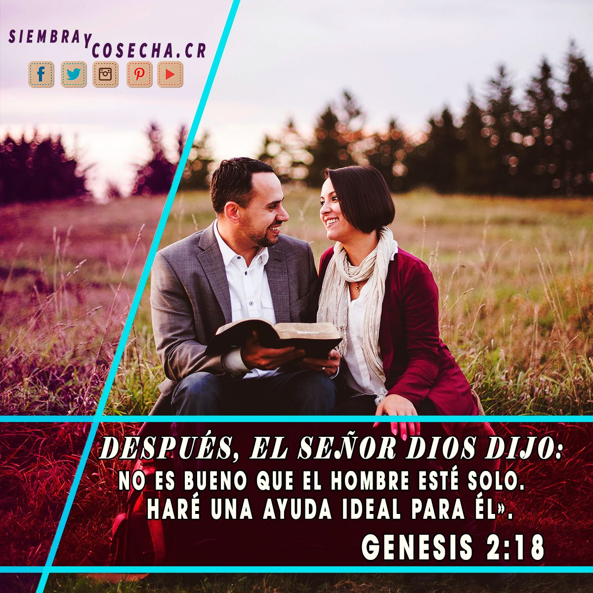 GENESIS 2:18 SITIO WEB:  http://siembracr.wixsite.com/siembracr