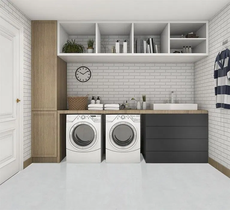 25 Awesome Minimalist Laundry Room Ideas For Small Space 14 In