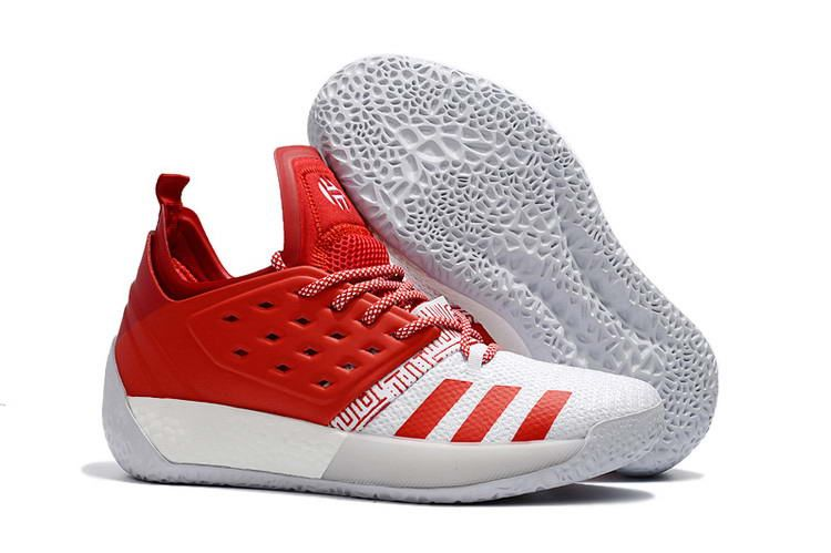 59997e86c06 Harden Vol. 2 Basketball Shoes Red White