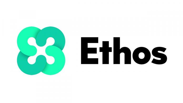 ethos cryptocurrency kaina