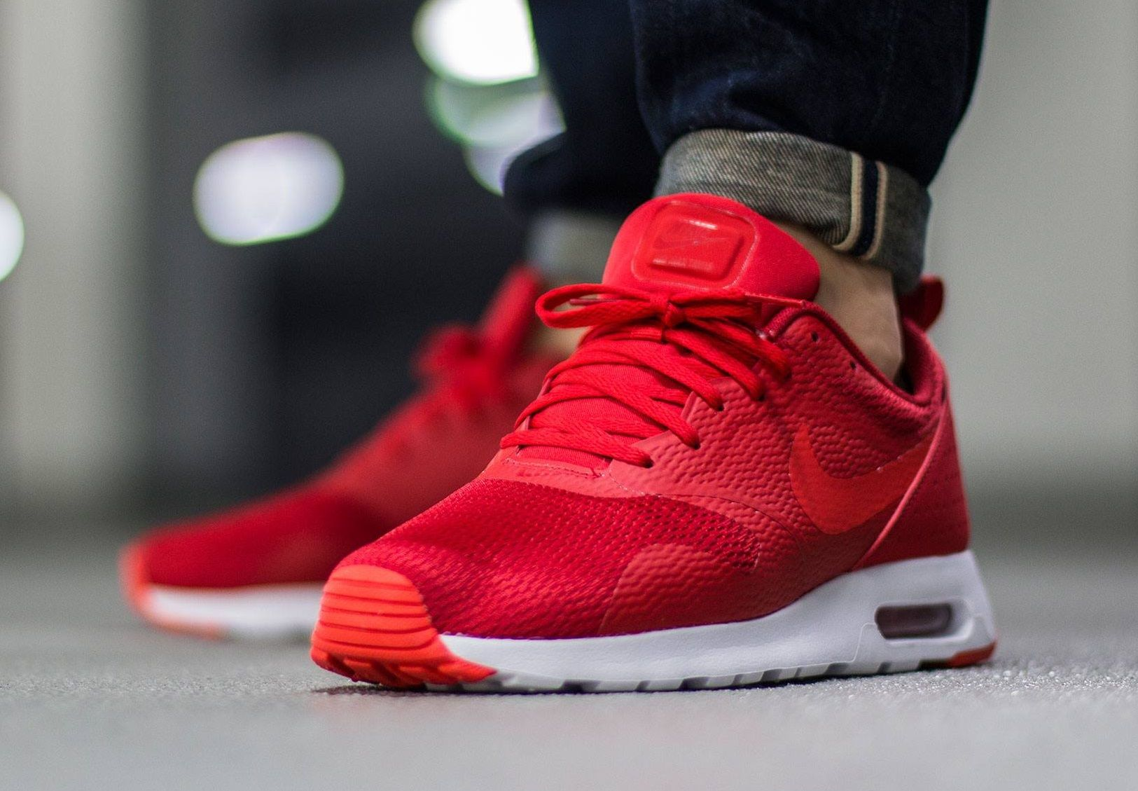 more photos 79337 8c07d Nike Air Max Tavas  University Red