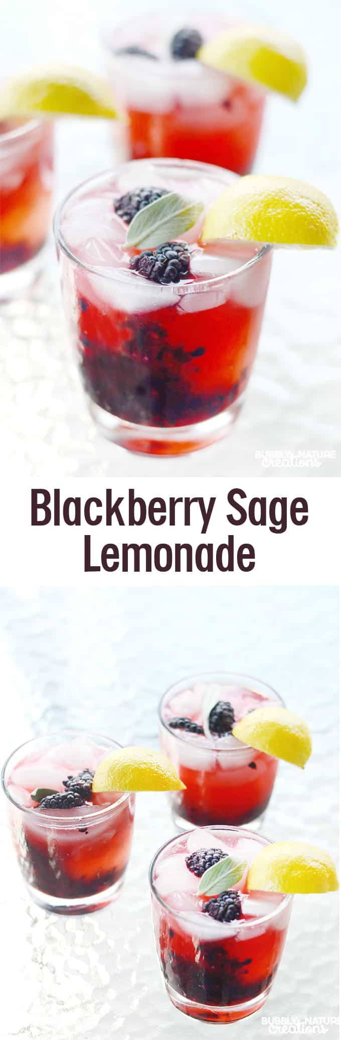 Blackberry Sage Lemonade (The Melting Pot Copycat) #themeltingpot
