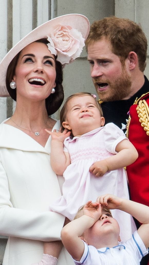 ...during which Princess Charlotte and Prince George