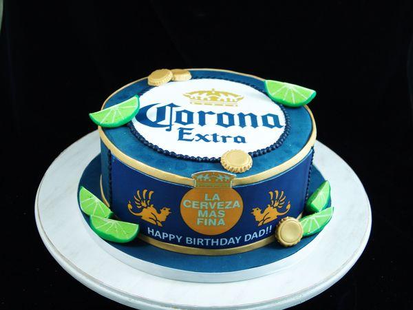 Corona Beer Birthday Cake Coronacake With Images Birthday