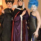 [Self] Disney villains: Maleficent Evil Queen Hades gender-bend.
