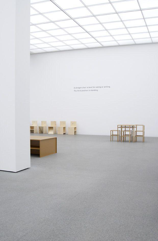 Donald Judd A Selection Of Furniture 6 Vintage Furniture Pinterest