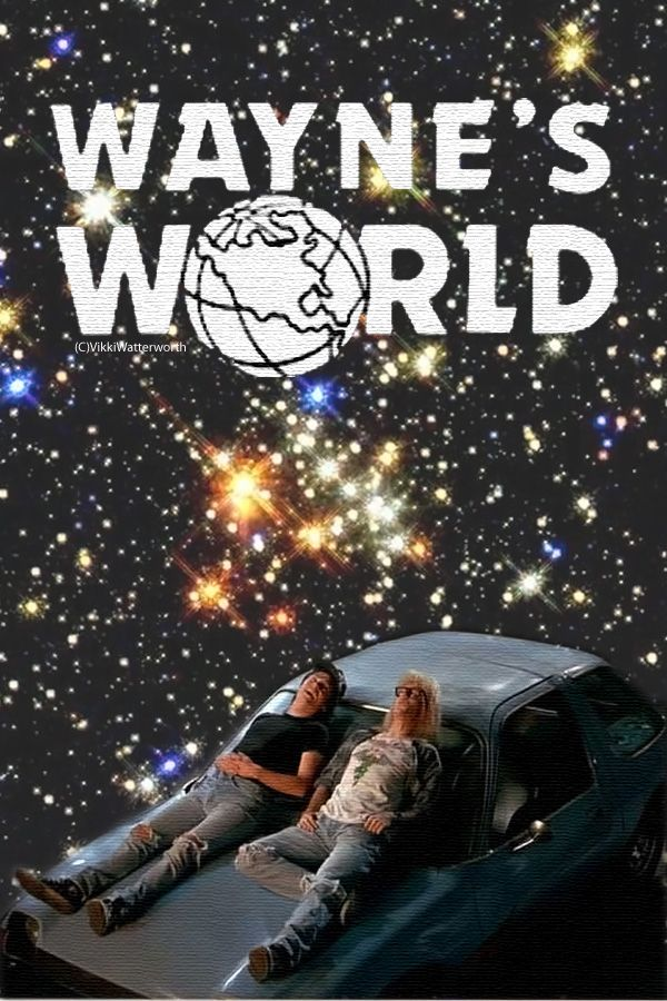 Waynes World Party Time By Vikkifosizzle On Deviantart