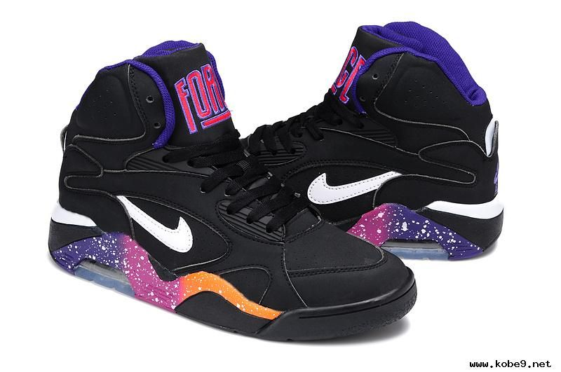 For Sale Nike Air Force 180 Mid 537330 017 BlackWhite Court