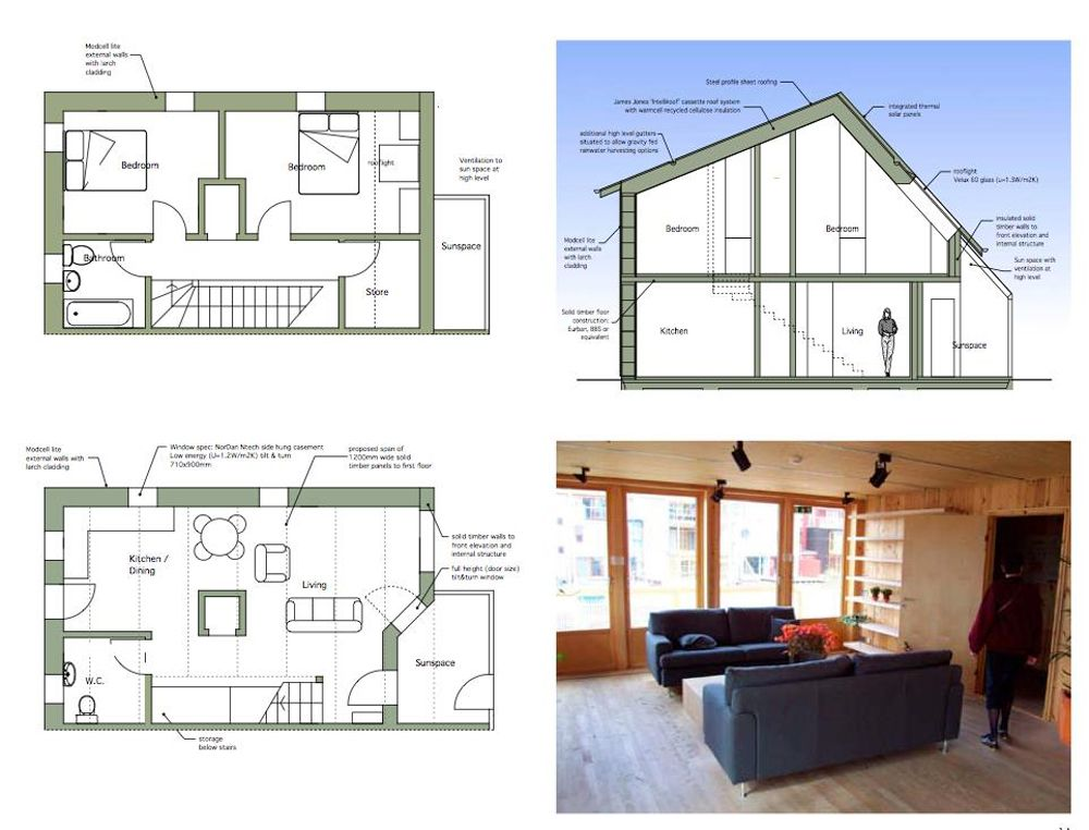 Duneland Ecovillage Scotland Right To Build Toolkit Affordable Apartments Building A House Timber Frame Construction