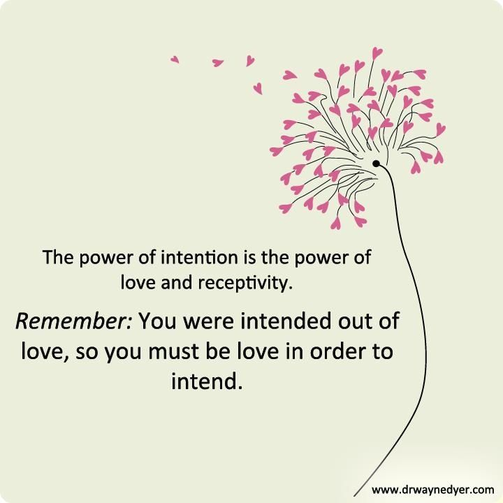 Power Of Intention Quotes Google Search Power Of Intention