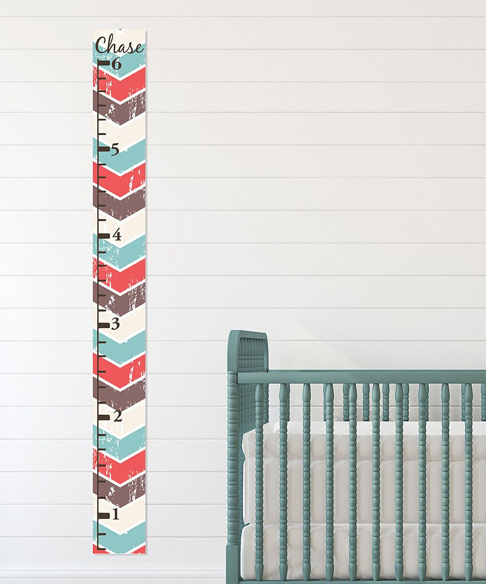 Look at this chevron growth chart personalized decal on zulily look at this chevron growth chart personalized decal on zulily today nvjuhfo Choice Image