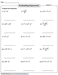 8th Grade Math Worksheets in 2020 | 8th grade math ...