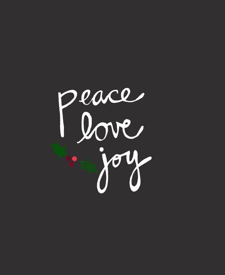 Typography    Peace. Love. Joy. | Christmas Home | Pinterest | Typography,  Peace And Chalkboards
