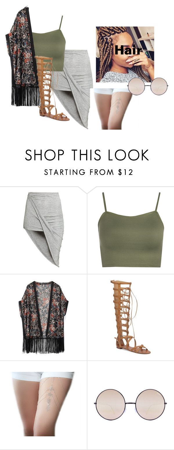 """Say No Words..."" by beautyqueen-927 ❤ liked on Polyvore featuring H&M, WearAll, WithChic, Vince Camuto and Quay"