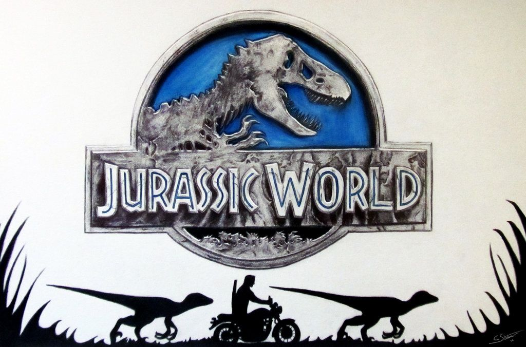jurassic world logo - Google Search