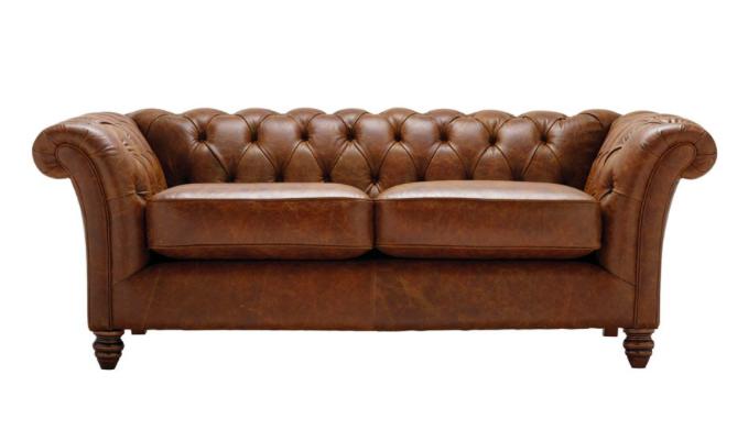 Cambridge 2 Seater Leather Sofa
