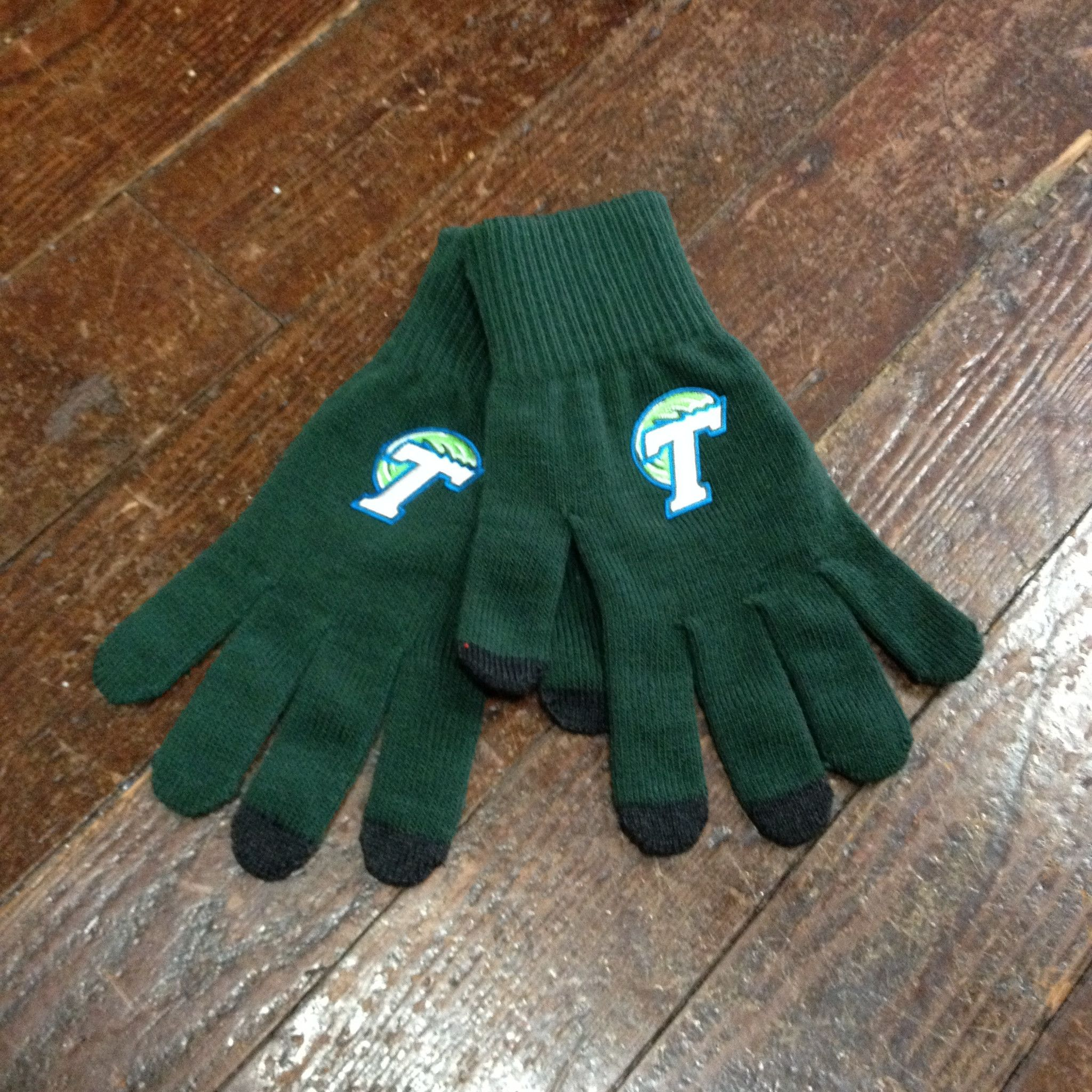 Home college tulane green wave tulane green wave silver plated - Tulane Knit Itech Gloves