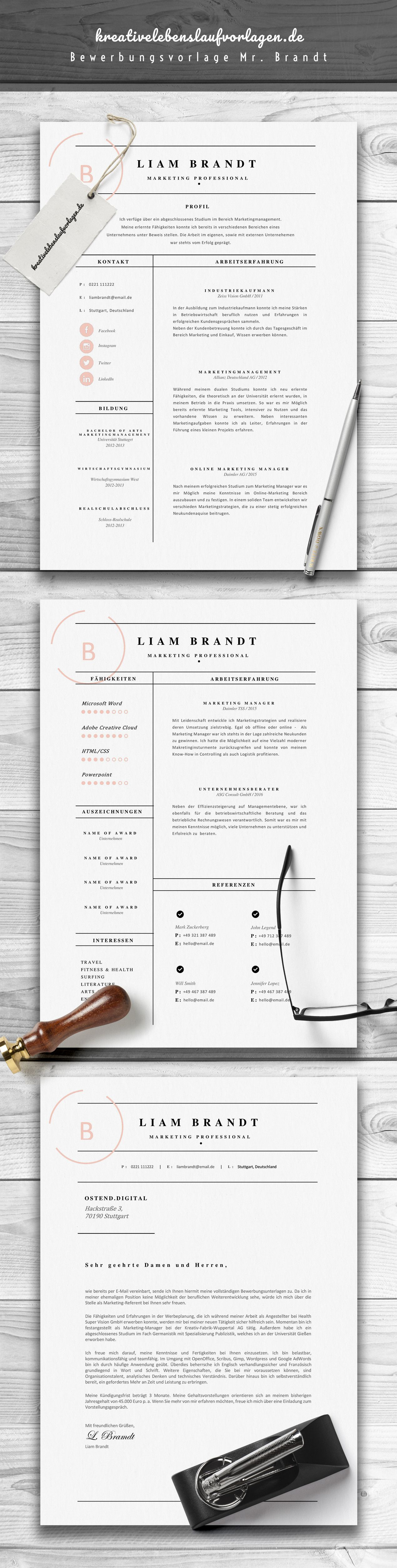 Mr. Brandt | Corporate design and Microsoft word