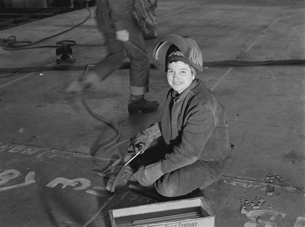 Wendy Welder Richmond Shipyards Rosie the Riveter